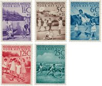 Nederlandse Antillen 1951 - NVPH 234-238 - Postfris