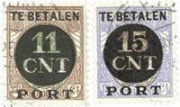 Holland 1924 - NVPH PV1-PV2 - Stemplet