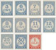 Holland 1921/1938 - Michel P69/79 - Postfrisk