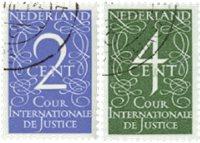 Cour de Justice 1950 (nr. D25-D26, gebruikt)