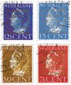 Nederland 1940 - NVPH D16-D19 - Gebruikt