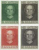 Pays-Bas - Reine Juliana En Face 1950, nos 230-233, neufs