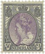 Holland - NVPH 75 - Ubrugt