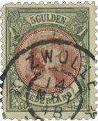 Pays-Bas 1893-1896 - NVPH 48 - Oblitéré