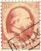 Holland 1864 - NVPH 5 - Stemplet