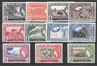 Colonie Britanniche 1957 - Mic 44-55 - Nuovo linguellato