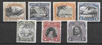 Colonie Britanniche 1933 - Mic 38-44 - Nuovo linguellato