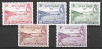 Colonie Britanniche 1938 - Mic 107-111 - Nuovo linguellato