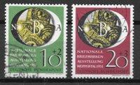 Vesttyskland 1951 - AFA 1104-05 - Stemplet