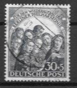 Berlino  1950 - AFA 73 - Timbrato