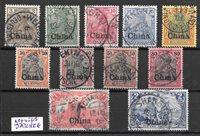 Colonie tedesche 1901 - AFA 15-25 - Timbrato
