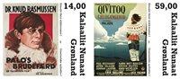 Grønland - Spillefilm - Postfrisk sæt 2v