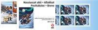 Groenland - Noël 2020 - Carnet neuf avec timbres adhésifs