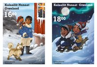 Greenland - Christmas 2020 - Mint set 2v