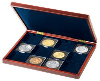 Møntkassette VOLTERRA Til 12 QUADRUM XL-Møntkapsler/møntrammer XL