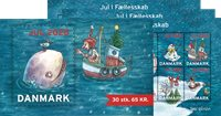 Danmark - Julemærke hæfte 2020 - Postfrisk hæfte med 30 mærker