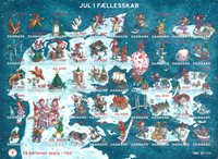 Denmark - Christmas seals 2020 - Mint adhesive Christmas seals