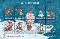Danmark - Julemærker 2020 - Postfrisk miniark