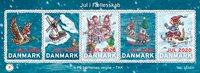 Danmark - Julemærke megaark 2020 - Postfrisk megaark