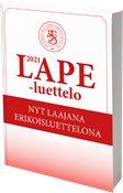 Finland LAPE-katalog 2021