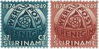 Surinam 1949 - NVPH 278/79 - Neuf avec charnière