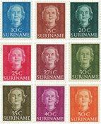 Surinam 1951 - NVPH 285/93 - Neuf avec charnière