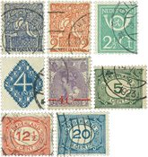 Holland 1921-1923 - NVPH 106-113 - Stemplet