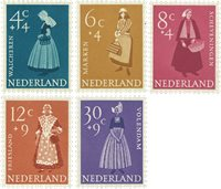 Holland 1958 - NVPH 707-711 - Postfrisk