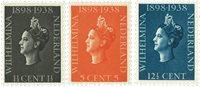 Holland 1938 - NVPH 310-312 - Postfrisk