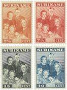 Surinam 1943 - NVPH 206/09 - Neuf avec charnière
