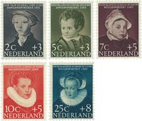 Holland 1956 - NVPH 683-687 - Postfrisk