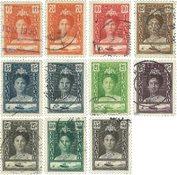 Curacao - Reine Wilhelmina 1928-30 - Nos 89-99