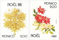 Monaco 1988-1989 - YT 1662+1701 - Postfrisk