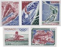 Monaco 1976 - YT 1057/1061 - Neuf