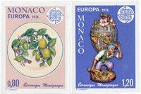Monaco 1976 - YT 1062/1063 - Neuf