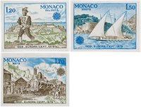 Monaco 1979 - YT 1186/1188 - Neuf