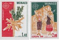 Monaco 1981 - YT 1273/1274 - Neuf