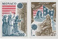 Monaco 1982 - YT 1322/1323 - Postfrisk
