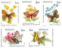 Monaco 1984 - YT 1420/1424 - Postfrisk
