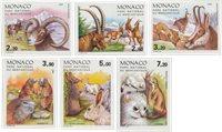 Monaco 1986 - YT 1522/1527 - Postfrisk