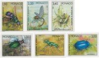 Monaco 1987 - YT 1567/1572 - Postfrisk