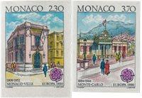 Mónaco 1990 - YT 1724/1725 - Nuevo