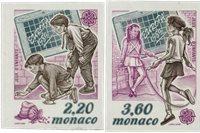 Monaco 1989 - YT 1686/1687 - Postfrisk