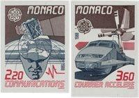 Monaco 1988 - YT 1626/1627 - Postfrisk