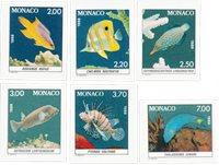 Monaco 1988 - YT 1615/1620 - Postfrisk