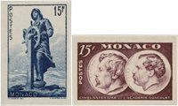 Monaco 1951 - YT 351/352 - Neuf