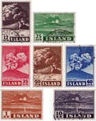 Island - AFA 248-254 - Stemplet