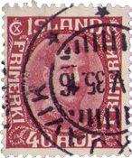 Islande - AFA 163 - Oblitéré