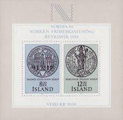 Islande - AFA 606 - Bloc-feuillet neuf
