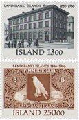 Island - AFA 651-652 - Postfrisk